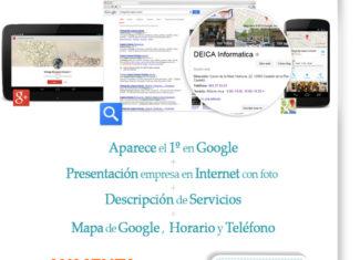 ¿Por qué mi web de Castellón no aparece en Google? = ALTA en Google