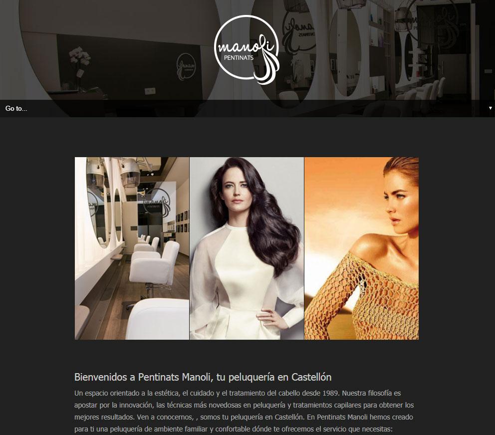 Nuevo Diseño Web de Peluquería en Castellón