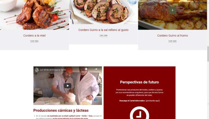 Presentamos la Web de La Asociación Nacional de Criadores de Raza Guirra ANGUIRRA en Castellón www.anguirra.com + Autoadministrable + Web Premium + SEO