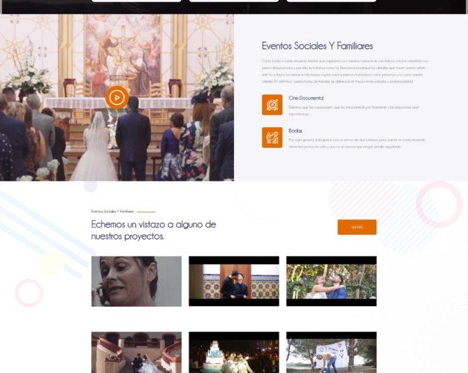 Presentamos la Web de Utoopia Films en Castellón www.utoopiafilms.com + Autoadministrable + Web Premium
