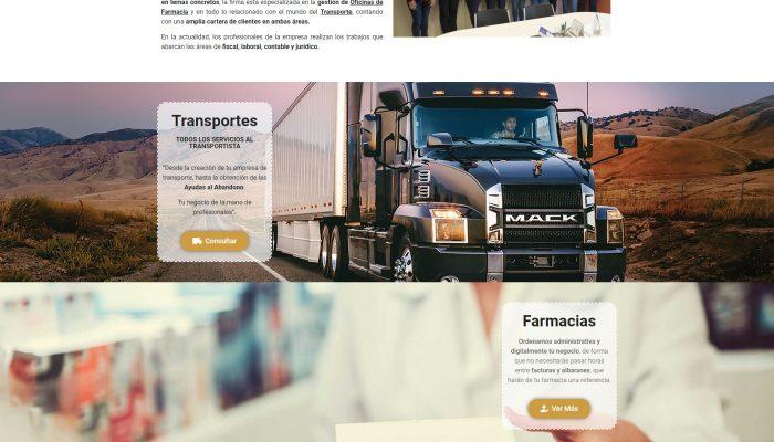 Presentamos la Web de Gestoría Asesoría Ramón Corma Castellón Esica www.gestoriacorma.com + Autoadministrable + Web Premium + SEO Básico